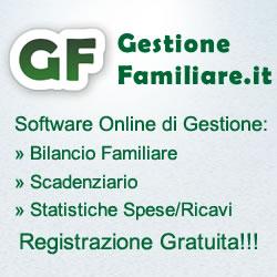 Bilancio Familiare Gratis Online